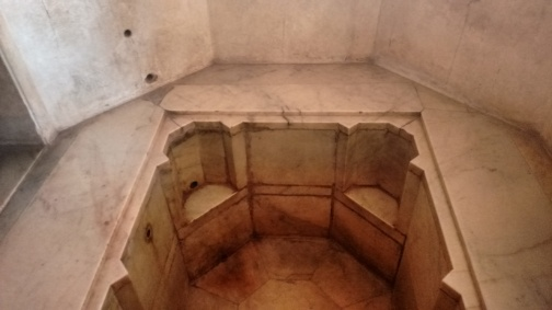 Turkish Hamam: Bathing area