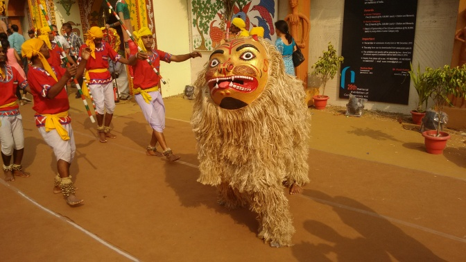 Masked-Animal dance form : Singhi Chham