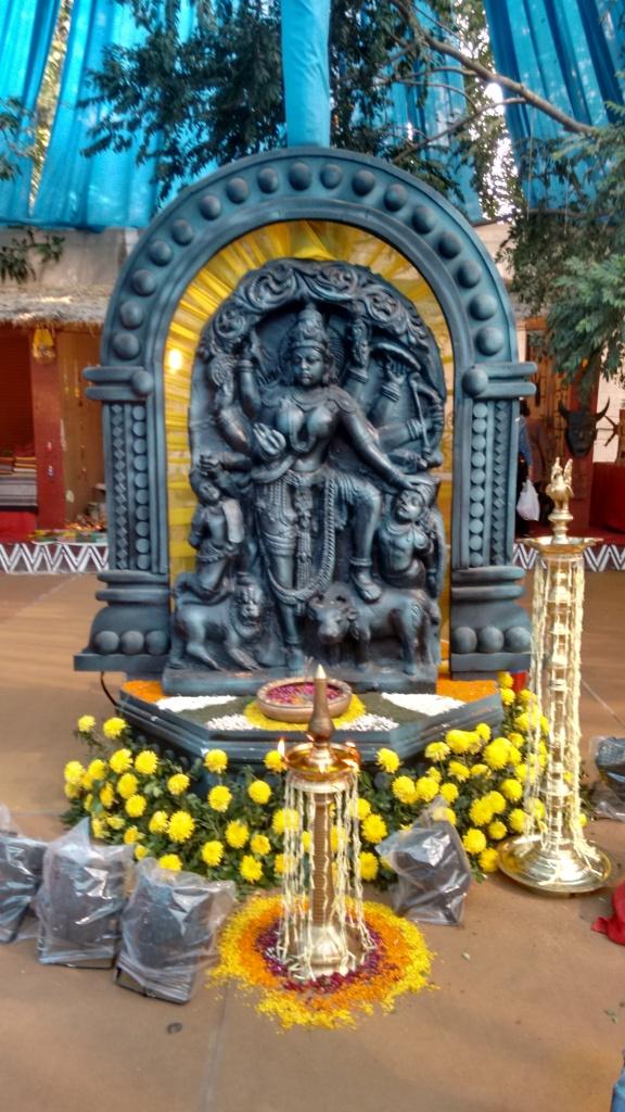 Mahishasurmardini - Chola dynasty inspiration