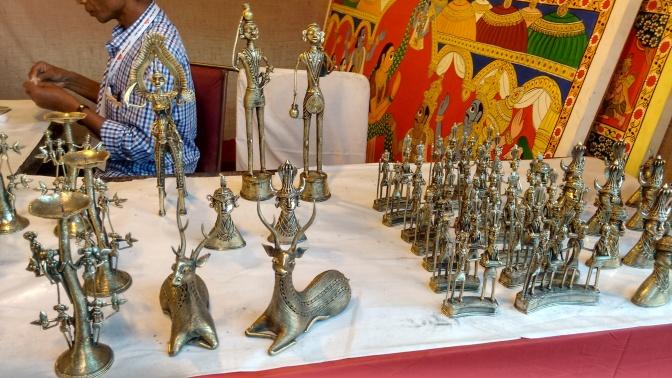 Brassware from Moradabad, Uttar Pradesh