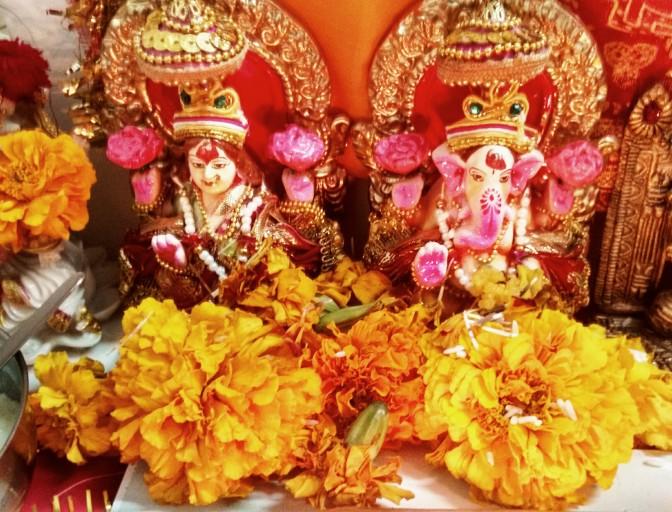Lakshmi-Ganesha