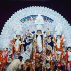Durga Pujo Charm in Delhi
